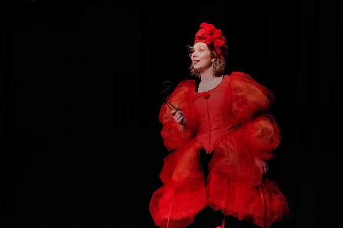 Barock-Musik-Theater-Inszenierung: Dolcissima Speranza (Probenfoto, Ensemble I Confidenti, 2017) Foto: Alexander Hilbert
