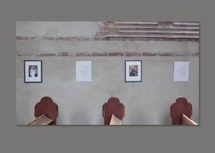 Ausstellungsansicht Gesichter und Geschichten Foto Alexander Hilbert